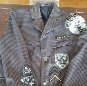 Black rivet G-lll apparel